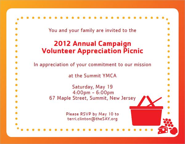 picnic invitation design