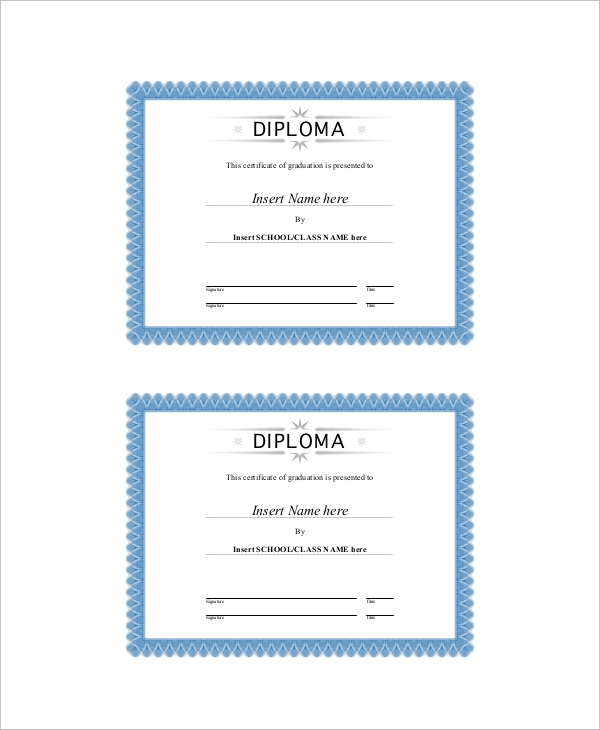 Sample Graduation Certificate - 6+ Documents In Pdf