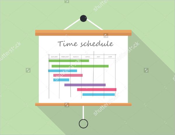 project presentation board