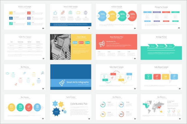 8 project presentations sample templates