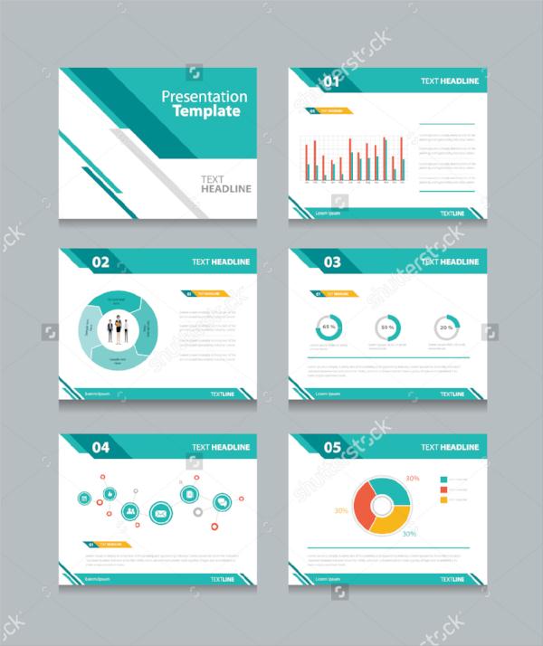 vector marketing presentation template