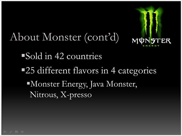 free marketing presentation template