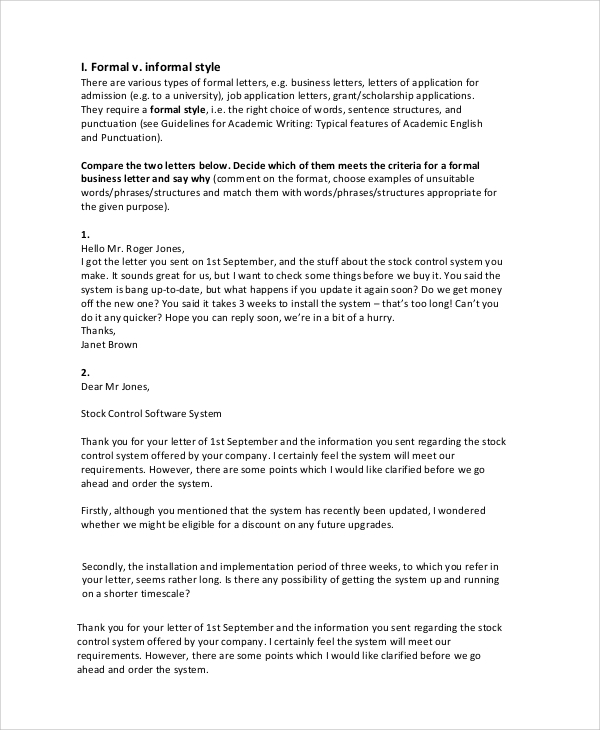 Word for letter writing formal letter templates free word documents best ideas of letter spiritdancerdesigns