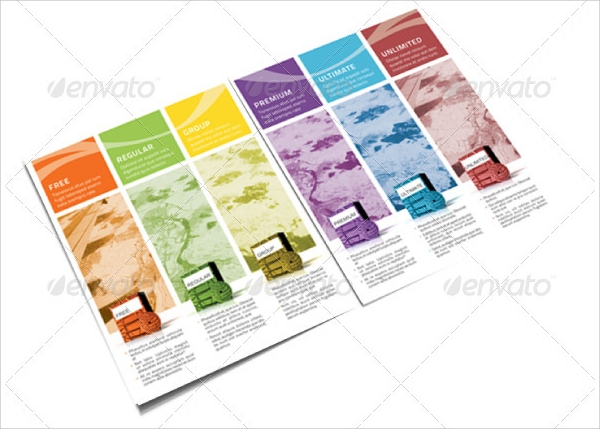 13 software brochures sample templates for Sample product catalogue template