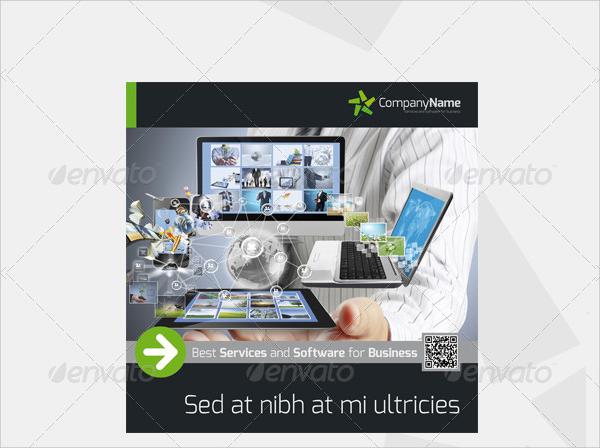 software company brochure template