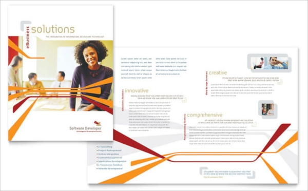 software developer brochure