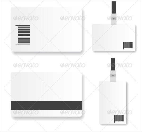 21 ID Cards PSD Vector EPS – Blank Id Card Template
