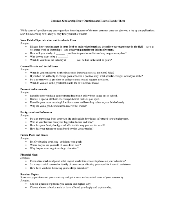 Common Application All College Application Essays   Part