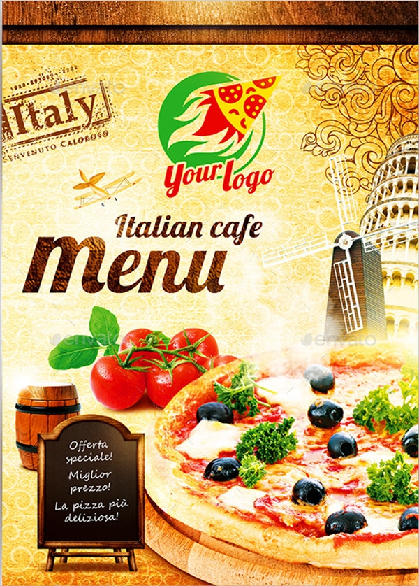 8  sample italian menus