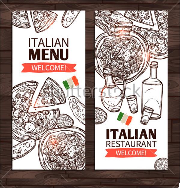 italian style menu