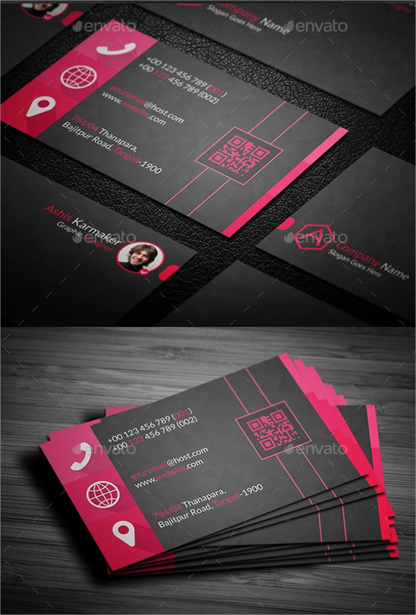 8 sample name cards psd vector eps psd business name card template flashek Gallery