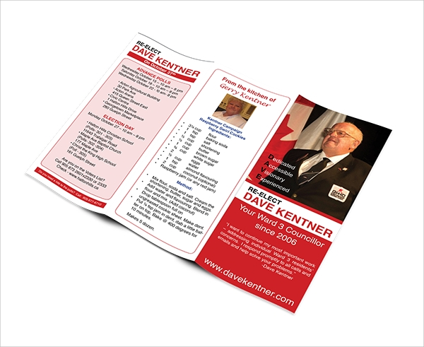 free election brochure template