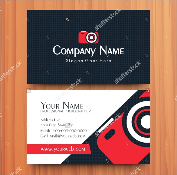 professional visiting card