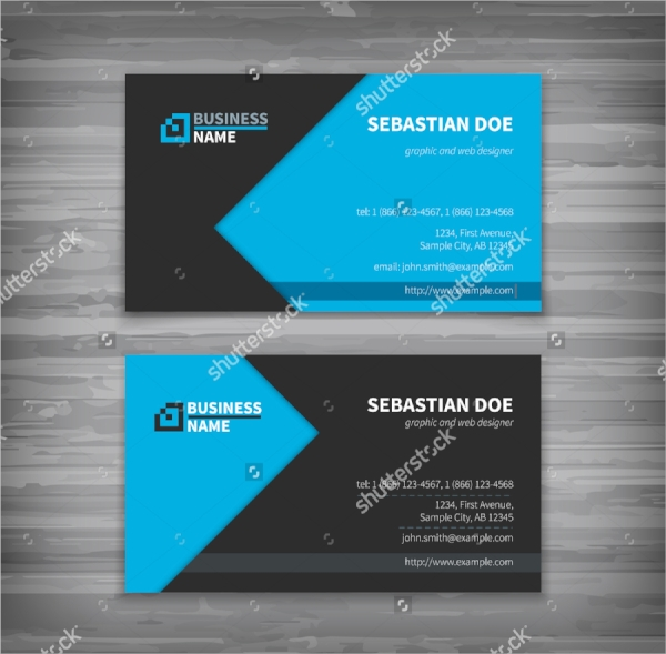 creative visiting card