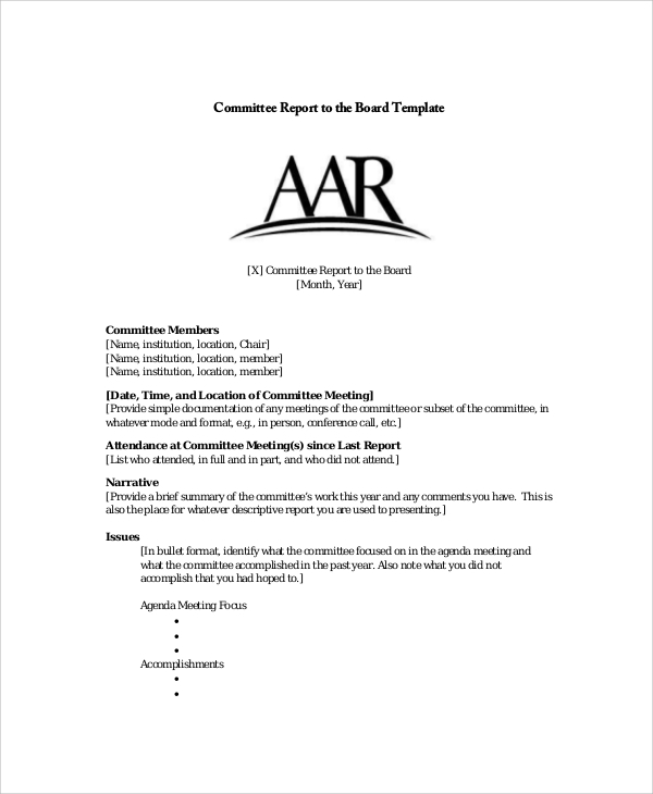 Sample Board Report - 5+ Documents In Pdf