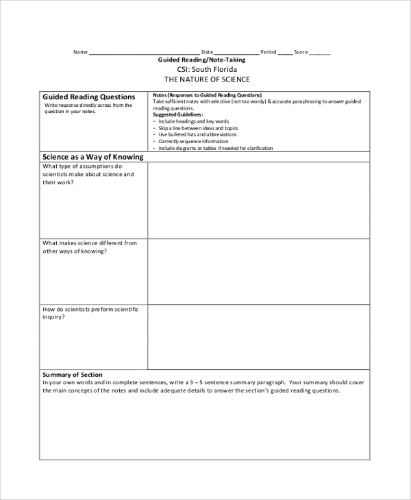 science cornell note