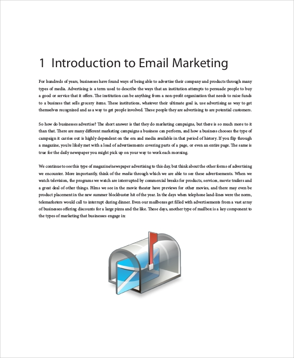 sample email marketing