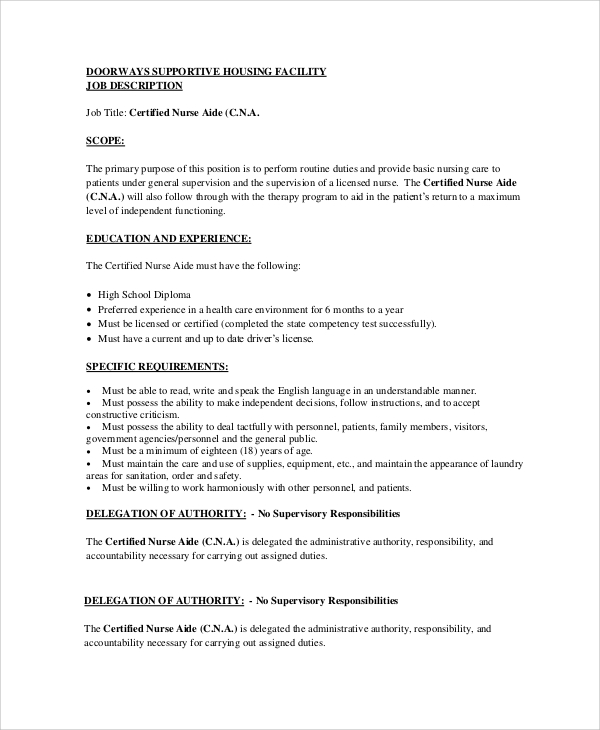 cna job duties - Etame.mibawa.co
