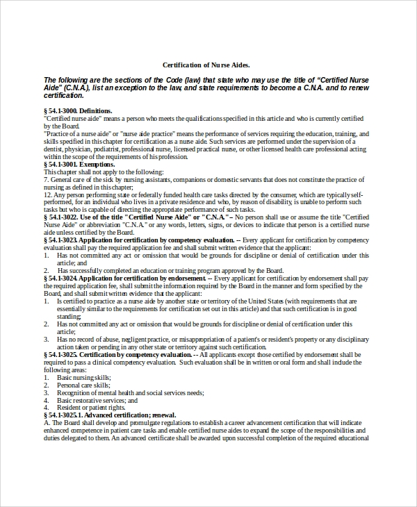 Cna Duties List  Resume Cv Cover Letter
