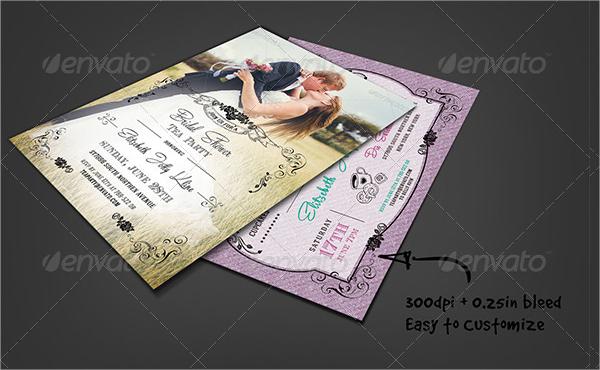 bridal shower tea party invitation1
