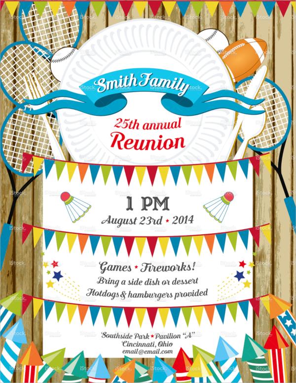 family reunion bbq invitation template