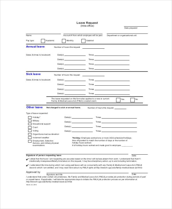 application correspondence regarding examine leave