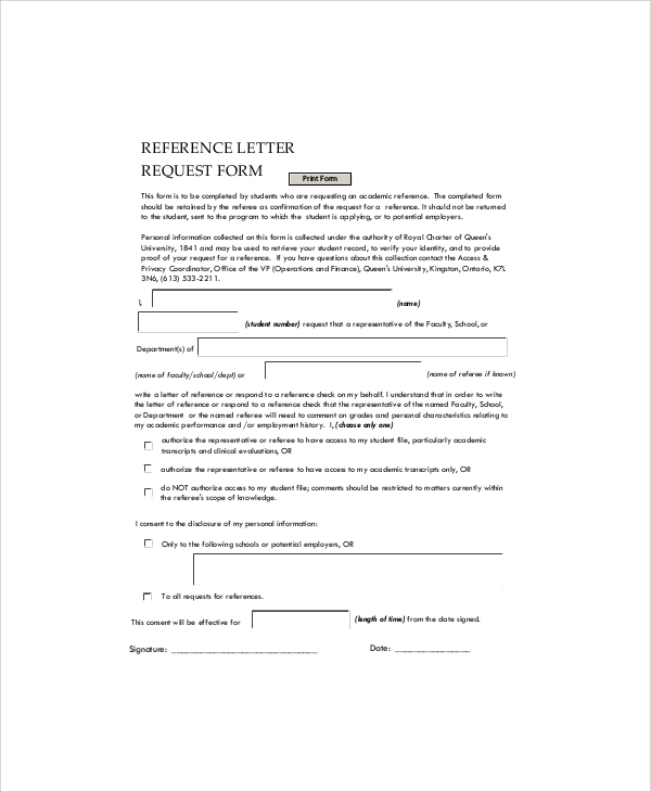 Sample Employment Reference Letter   Documents In Pdf Word