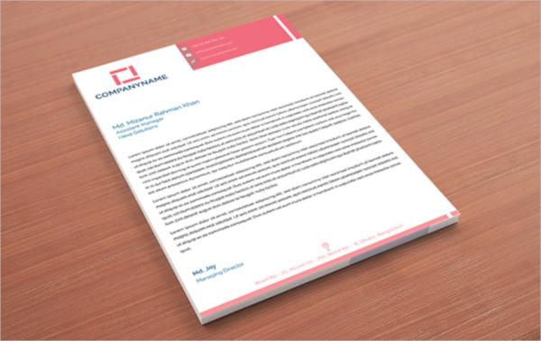 free corporate letterhead
