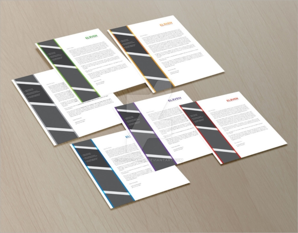 corporate letterhead example