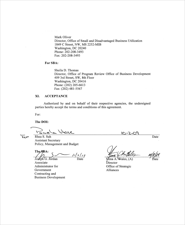 Sample Business Partnership Agreement   Documents In Pdf