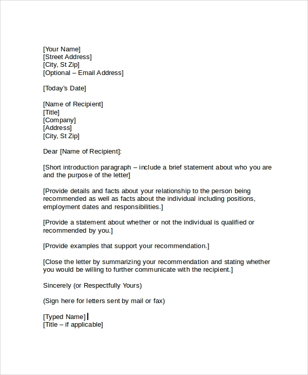 sample employment reference letter1