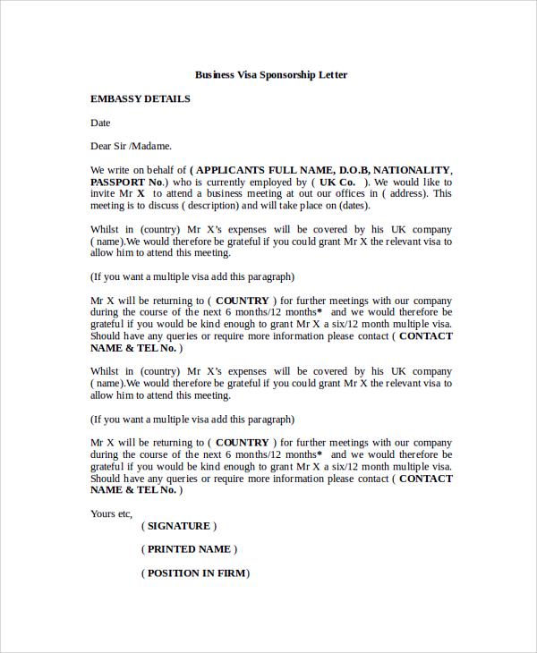 Job cover letter visa sponsorship sponsor letter for visitor visa usa hvac cover letter thecheapjerseys Gallery