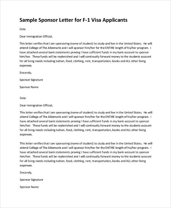 Cover letter german student visa sample sample letter of financial support for student visa spiritdancerdesigns Image collections