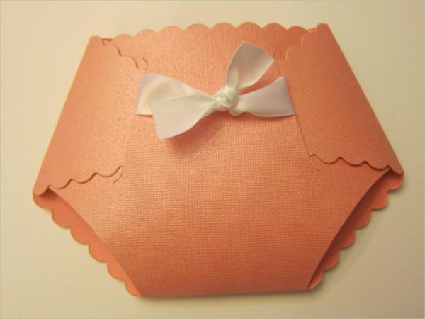 13+ Sample Diaper Invitations | Sample Templates