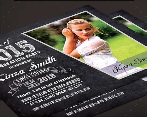 graduation announcement invitation card