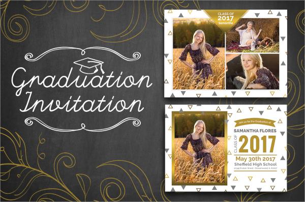 custmozible graduation invitation