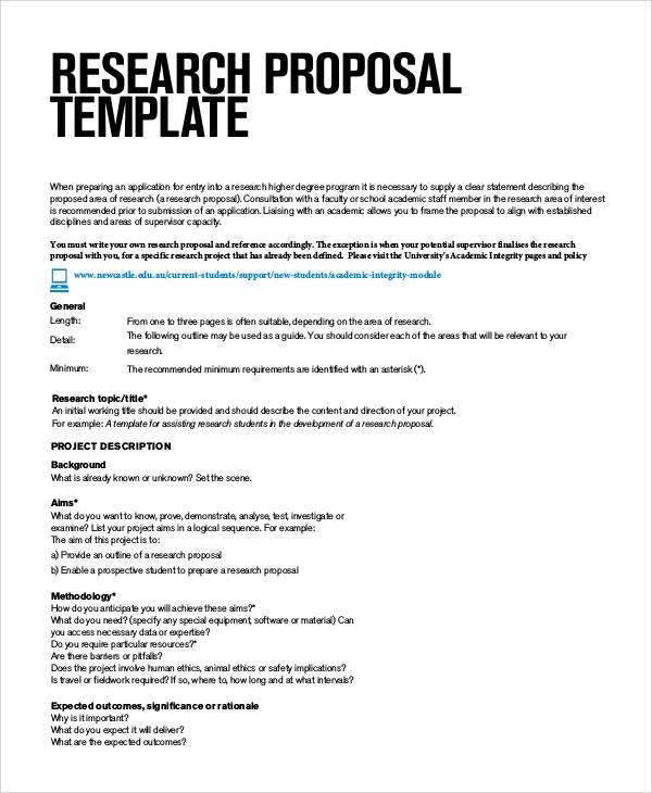 Marvelous Basic Research Proposal Sample