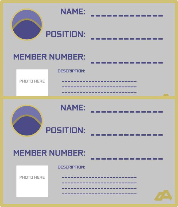 useful membership card