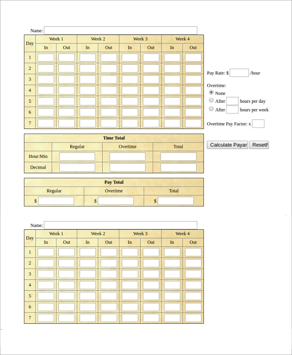 military time card calculator1