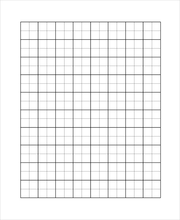 bold printable graph paper