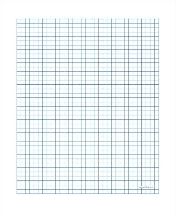 Sample Printable Graph Paper   Documents In Pdf Word Excel