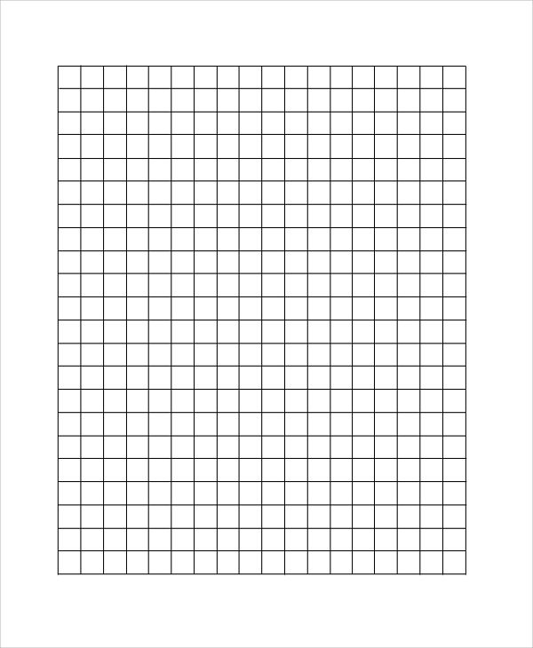 Sample Printable Graph Paper
