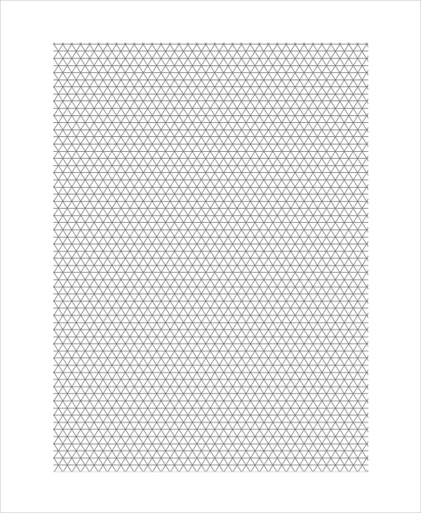 isometric printable graph paper