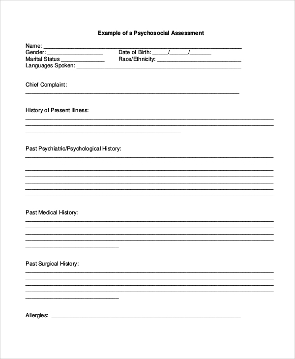 Assessment Example Pdf Army New Risk Assessment Form Sample Sample