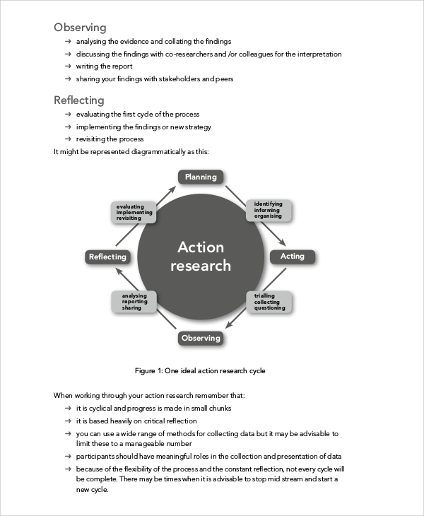 action research plan in education