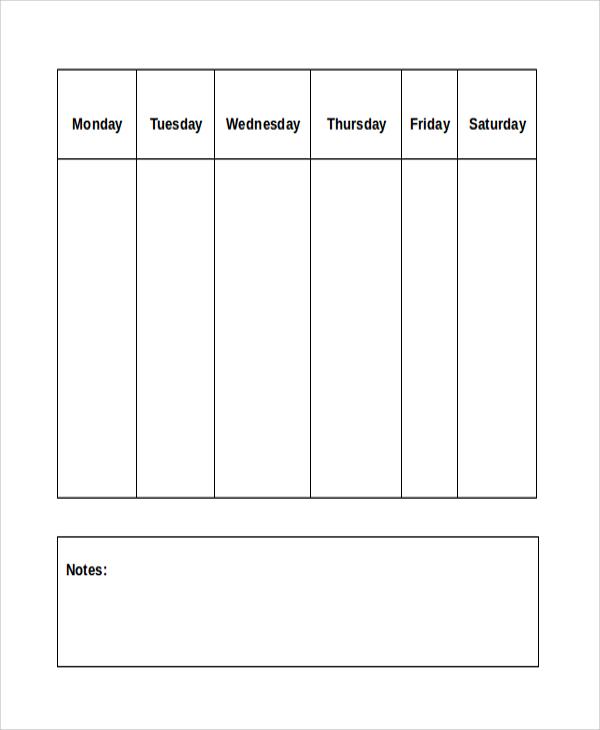 blank chore chart1