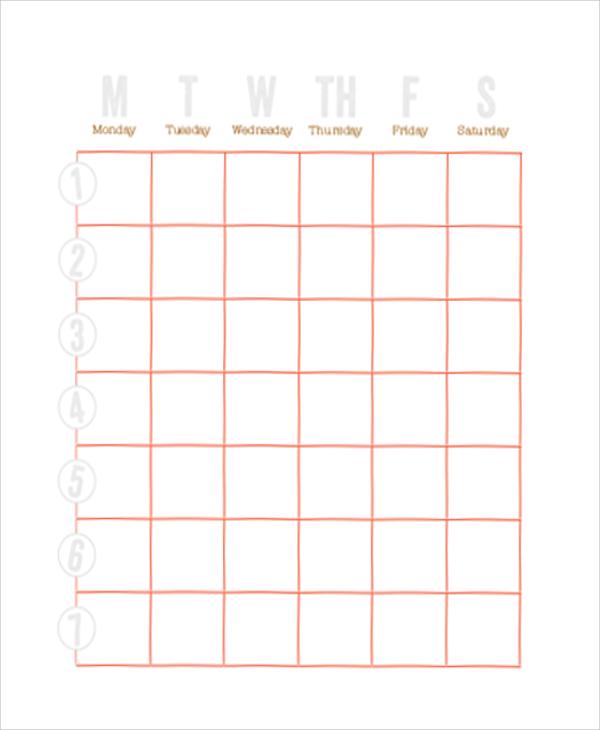 weekly chore chart1