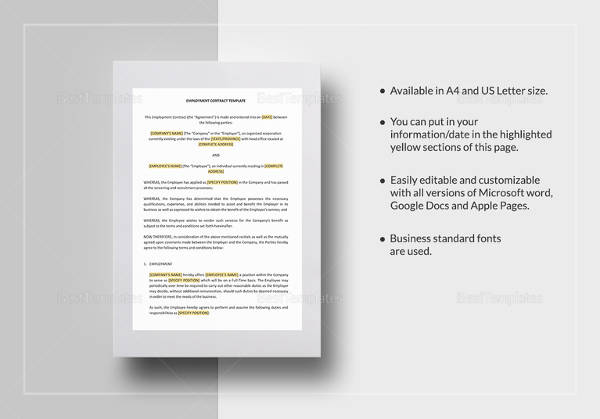 employment contract template1