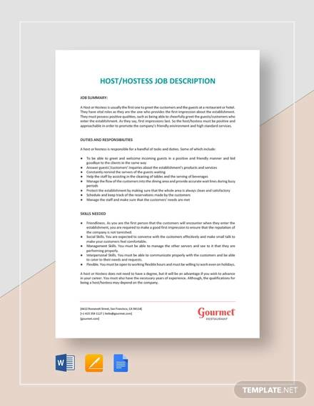 Sample Receptionist Job Description 11 Examples In Word