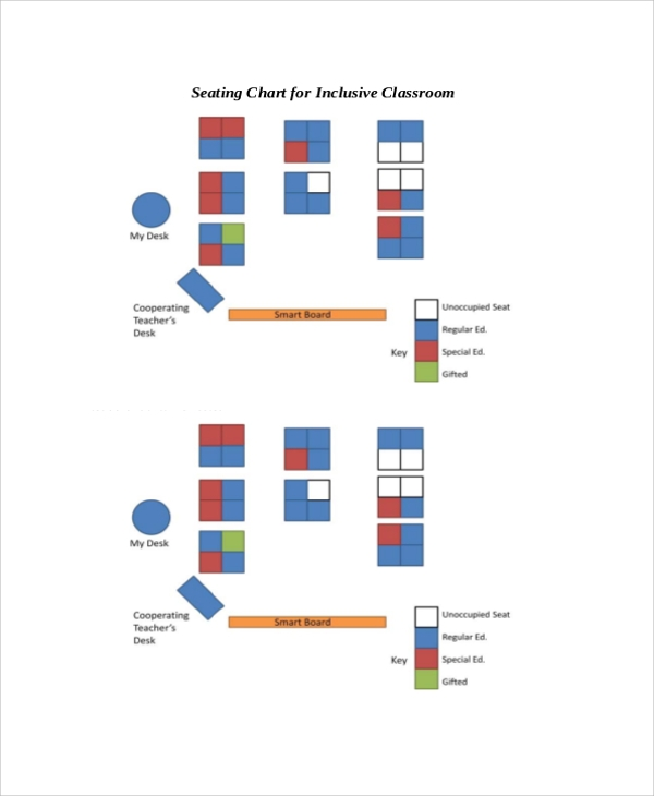 Sample Seating Chart - 8+ Documents in PDF, Word